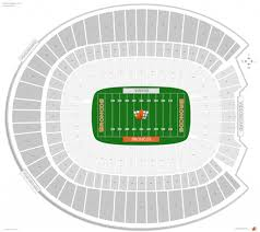 Denver Invesco Field Seating Chart Mile High Stadium Seating Chart Seating Chart