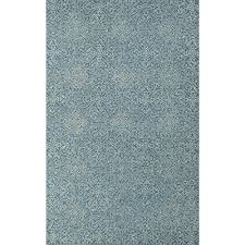 gable design aqua hand tufted rug 5x8