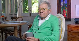 but he made her a stained glass window david hockney wouldn t paint the queen but he made her a stained glass window