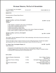 resume builder free template