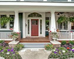 front porch railing houzz