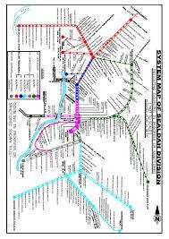 Indian Railway Route Chart Eastern Railway