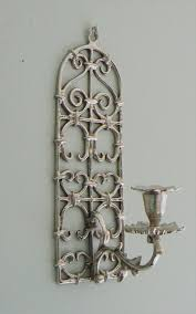 vintage brass wall sconce candle sconce