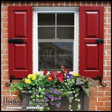 Decorative Window Boxes Window Shutters Exterior Shutters Hooks Lattice 50