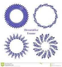 Decoration For Project Doodle Frames Vector Set Decoration Of Photos Scrapbooking Web