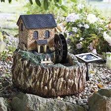Solar Light Up Water Feature Details About Garden Mill Water Feature Solar Powered Fountain Led Light Up Windows Door New