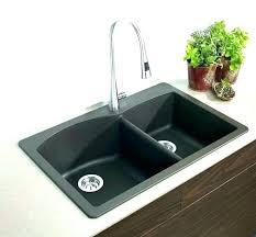 sink sinks kitchen home depot farmhouse double basin black color drop bathroom installation kohler