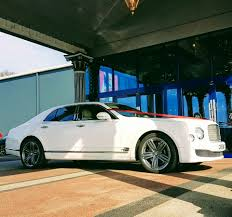 bentley mulsanne white. white bentley mulsanne chauffeur hire