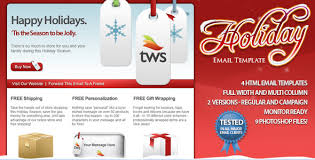 Holiday Newsletter Template Unique Free And Premium Christmas HTML Email Newsletter Templates Designmodo