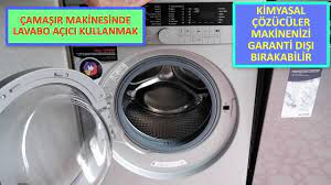 Çamaşır Makinesinde Lavabo Açıcı Kullanmak Ne Kadar Doğru? Dikkat Makineniz  Garanti Dışı Kalabilir - YouTube