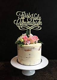 Acrylic Cake Decoration First Holy Communion Holy Communion Cake Topper