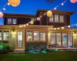 backyard string lighting. outdoor party colorful chinese lanterns string lights patio lighting globe bulbs backyard r