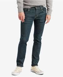 Levis 511 Size Chart Mens 511 Slim Fit Jeans