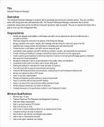 fast food restaurant manager resume fast food restaurant resume beautiful fast food supervisor resume