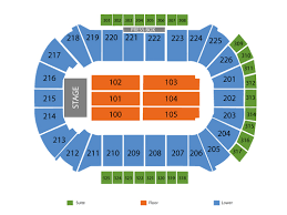 Resch Center Seating Chart With Seat Numbers Cirque Du Soleil Crystal Tickets At Resch Center On October 11 2018 At 7 30 Pm