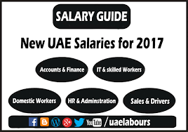 Law Firm Associate Salary Chart Uae Salaries In 2017 Salary Guide Uae Labours
