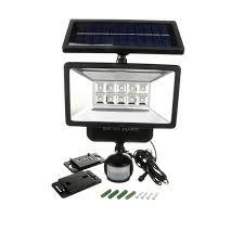 60 LED Solar Security Light  Motion Sensor Flood LightSolar Sensor Security Light
