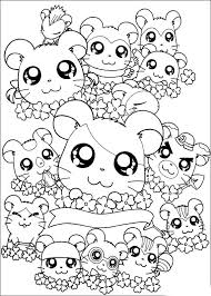 Small Picture Coloring Pages Of Cute Animals Hard Coloring Pages