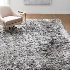 shag rugs. Interesting Shag Glam Shag Rug On Rugs West Elm