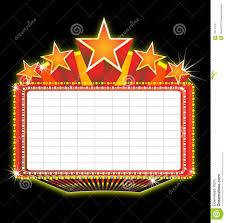 Marquee Sign With Lights Marquee Clipart Lighted Sign Picture 121833 Marquee