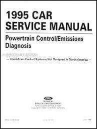 ford obd engine emissions diagnosis manual original 1995 ford probe aspire escort gt tracer engine emissions diagnosis manual