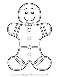 Small Picture Gingerbread Man Coloring Pages Gingerbread Man Coloring Page 1jpg