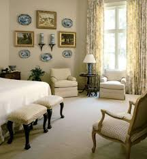 master bedroom ideas decorating with chinese plates and wall hanging pictures and chandles and vase and
