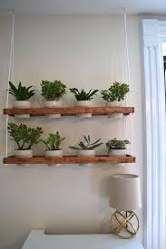 wooden hanging planter is a completely hand made if youd like a indoor wall hanging planters