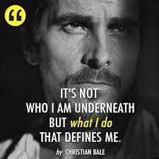 Reblog if Christian Bale inspires you. http://celebquote.com/1198 ...