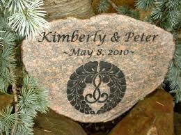 engraved garden stones. Medium Engraved Granite Stone Garden Stones