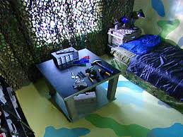 camouflage bedroom decorating ideas for