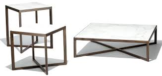 krusin side table coffee table contemporary marble home coffee table knoll marc krusin coffee table