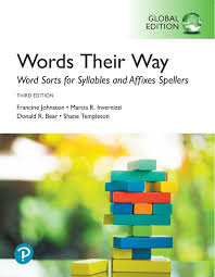 Phonics Generalizations Chart Words Their Way Word Sorts For Syllables And Affixes Spellers Global Edition