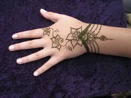рисунок на руке хной для начинающих