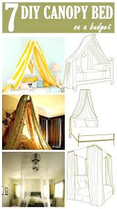 Diy Bed Canopy 7 Canopy Beds Diy King Size Canopy Bed Frame ...