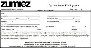 Walmart Application Printable Job Application Form For Walmart Best Resume