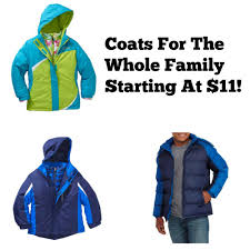Walmart Clearance | Coats For The Whole Family Starting At $11!