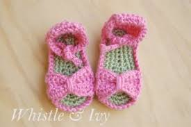 Crochet Baby Sandals Pattern Unique Crochet Baby Sandals AllFreeCrochet