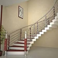 Stainless Steel Handrail. Position: Stairs