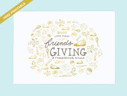 feast friendsgiving invitation printable friendsgiving invitation printable