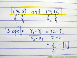 image titled find the equation of a line step 9bullet1