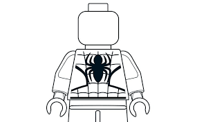 Small Picture Lego Spider Man Coloring Coloring Pages