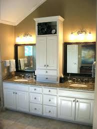 bathroom vanity and linen cabinet. Bathroom Vanities With Linen Tower Cabinets Vanity And Cabinet U