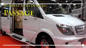 Midwest Auto Design 2018 Midwest Auto Design Passage Class B Motorhome Rvingplanet Com First Look At New Rv