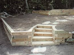 landscape timbers retaining wall landscape timber retaining wall pictures backyard building