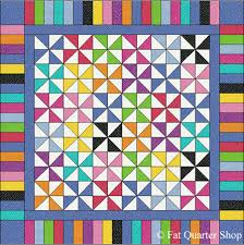 Free Quilt Patterns - Pinwheel Pindot Quilt Pattern | Fat Quarter Shop & Pinwheel Pindot Quilt Pattern Adamdwight.com