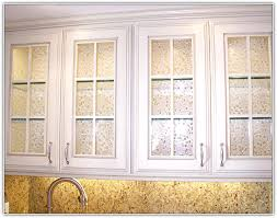 White Kitchen Cabinet Doors With Glass Inserts Awesome Design