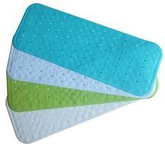 bathroom non skid bath mat bathroom com slip natural rubber pvc free extra non
