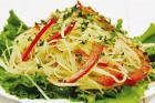 Салат с болгарским перцем и капустой с майонезом