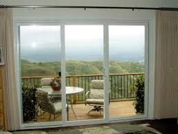 image of 3 panel sliding glass door revit